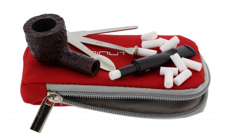 Savinelli Minuto 401 pipe (sandblasted, brown)
