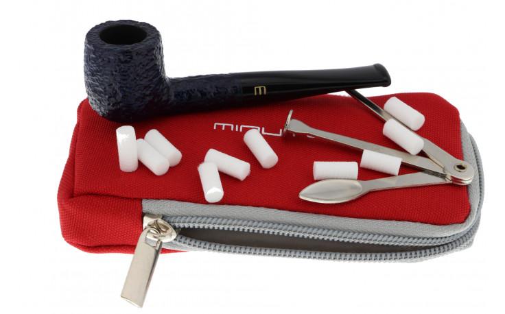 Savinelli Minuto 109 pipe (rusticated, blue)