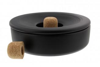 Savinelli pipe ashtray (black)