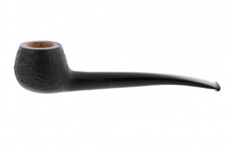 Nuttens sandblasted pipe (round bowl)