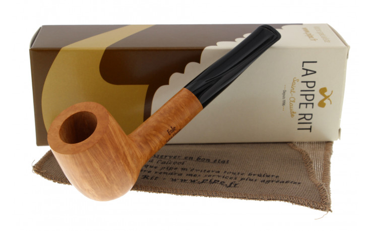 Eole straight grain briar pipe (9mm filter)