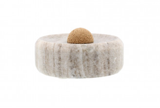 Marble pipe ashtray (small size)
