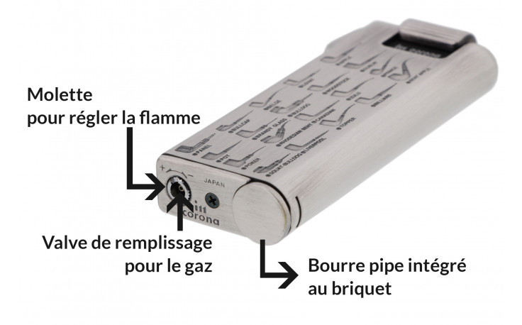 Corona Master 33/7415 pipe lighter