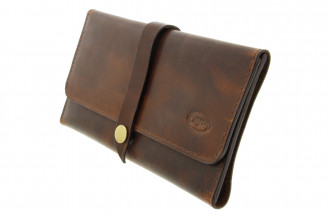 Chacom leather tobacco pouch CC019BR
