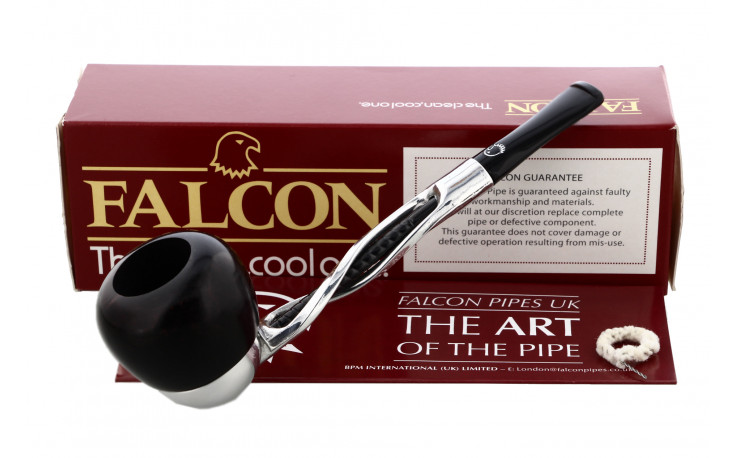 Falcon Apple straight pipe (twisted black shank)