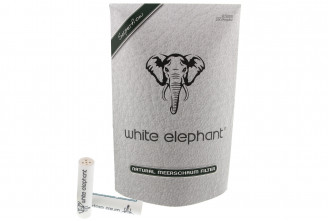 White-Elephant 9mm nature meerschaum filters (x250)