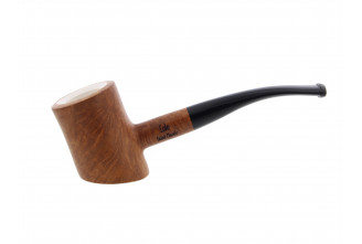 Meerschaum Eole poker pipe (sandblasted) (on sales)
