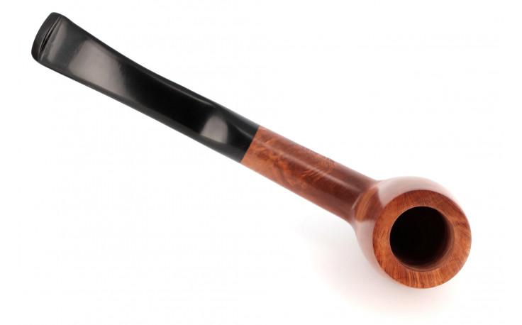 Natural half-bent pipe