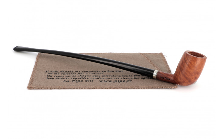 Extra long Surf ringed pipe (natural finish)