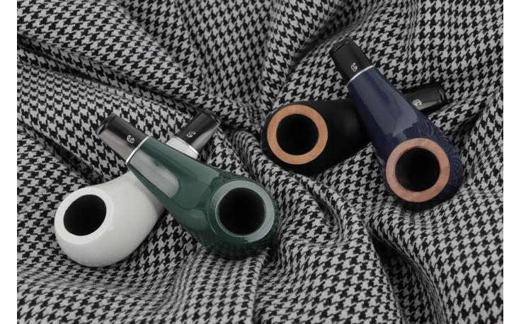 Big Ben Pipo pipe (green polish)