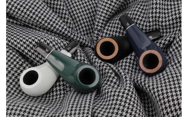 Big Ben Pipo pipe (white polish)