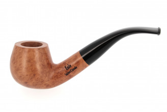 Eole 9mm bent apple pipe (natural finish)