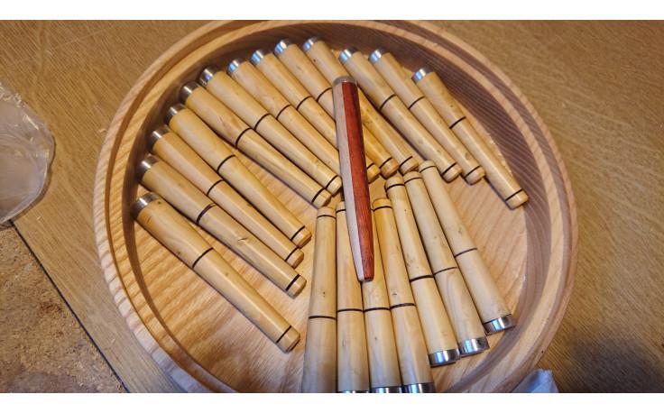 Handmade pipe tamper (boxwood)