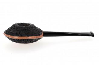Kristiansen YYY rusticated pipe (black finish)