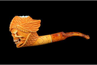 Meerschaum pipe (skull n°2)