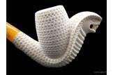 Pipe en écume de mer Serpent 1