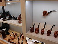 Briar wood carved pipes