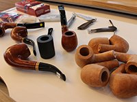 Briar wood the raw material for pipe crafting