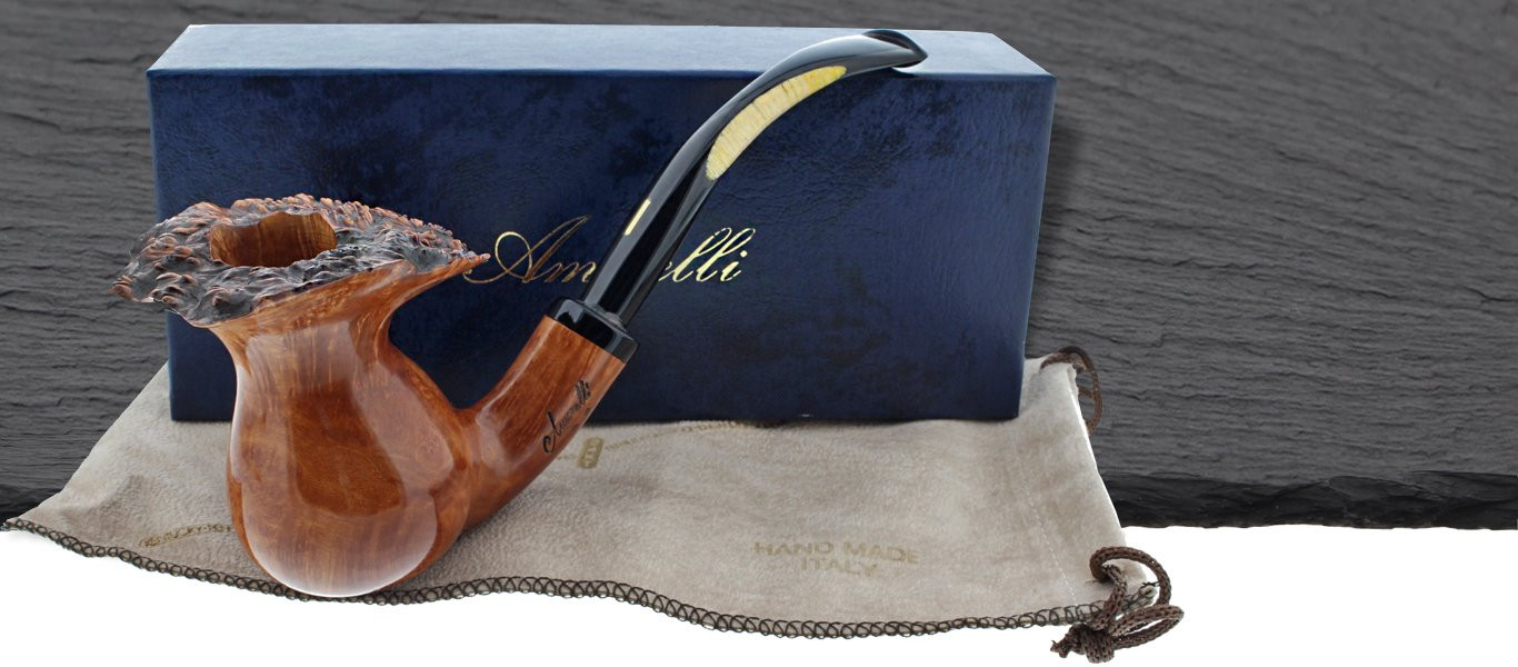 Amorelli handmade pipes from Italy