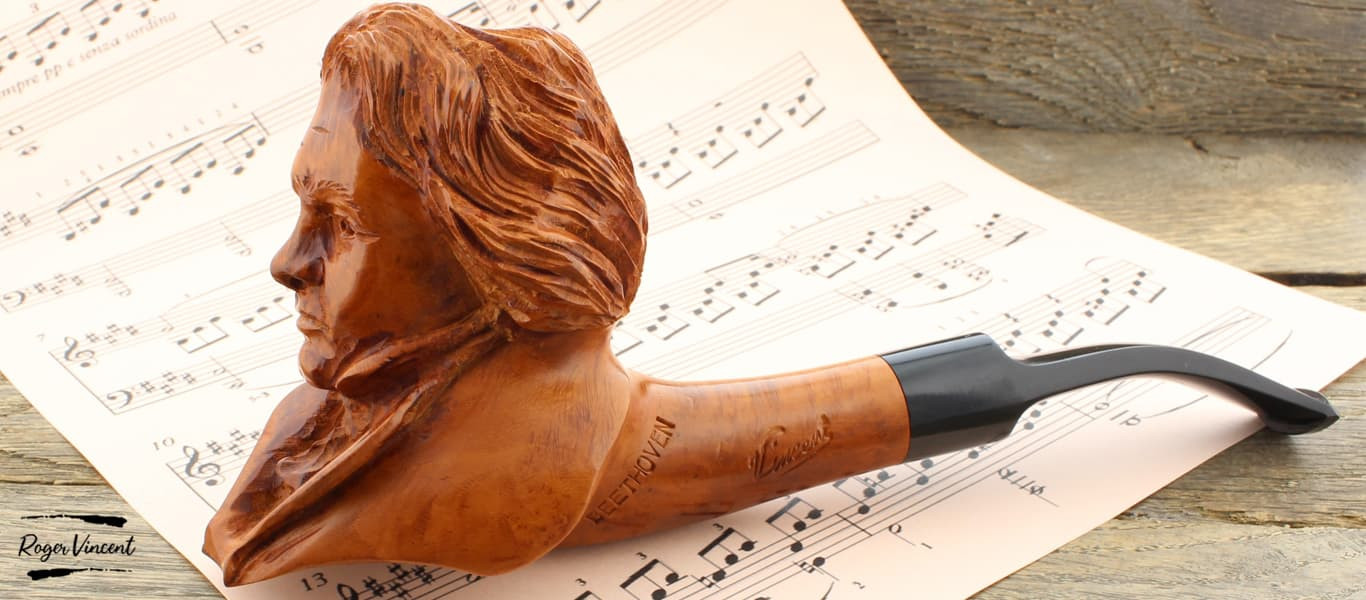 Beethoven pipe by Roger Vincent