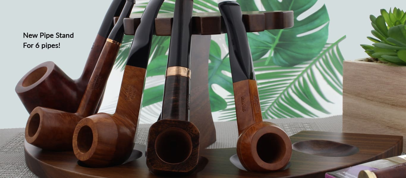 Pipe stand for 6 pipes
