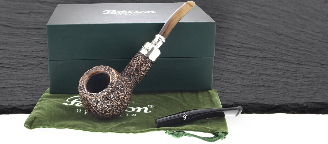 Spigot sandblasted Peterson pipe
