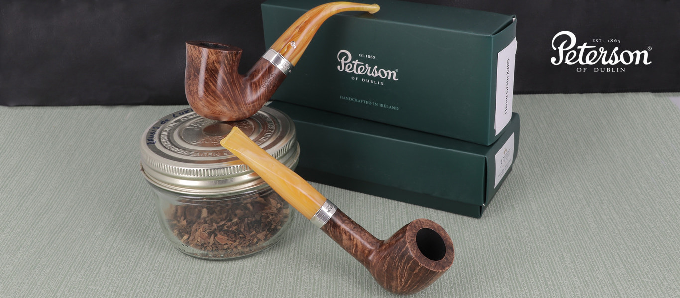 Peterson pipes (Flame Grain line)