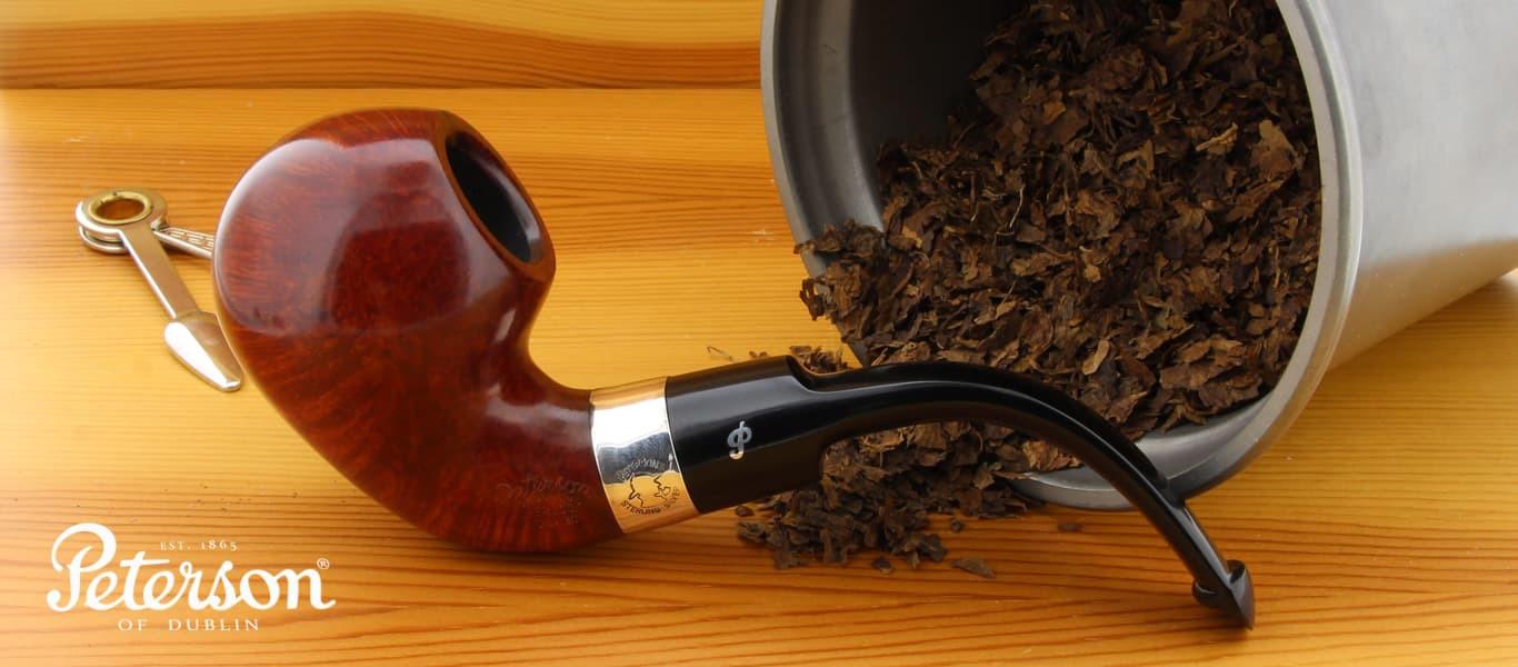 Peterson Sherlock Holmes Lestrade pipe
