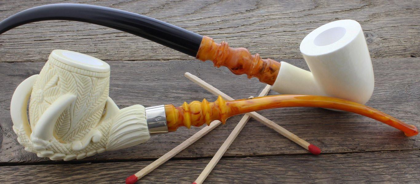 Meerschaum pipes