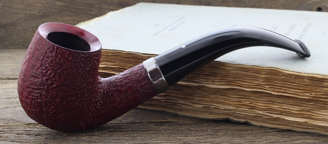 Ruby Bark 4102 Dunhill pipe