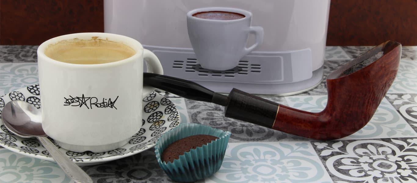 Coffee break 10 Rostiak pipe